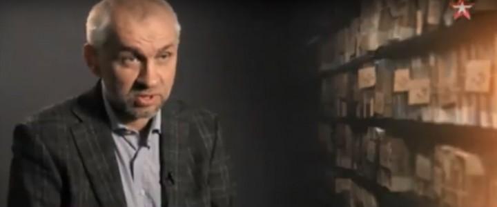 Политолог Владимир Шаповалов в фильме «Под крышей НАТО. Тайные армии»
