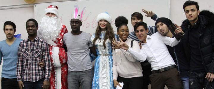 28 декабря 2017 г. Новогодний праздник для иностранных студентов Института филологии в КГФ