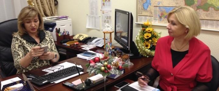 Рабочая встреча с заместителем председателя комитета Государственной Думы по образованию и науке Л.Н.Тутовой