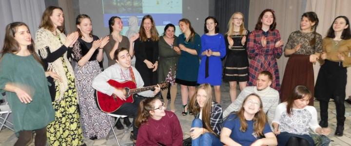 Песня начинается и продолжается здесь: открытие Клуба бардовской песни в Институте детства