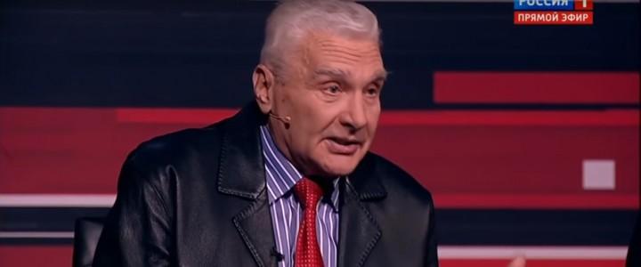 Профессор МПГУ Б.Ф.Славин в программе «Вечер с Владимиром Соловьевым» про Афганскую войну