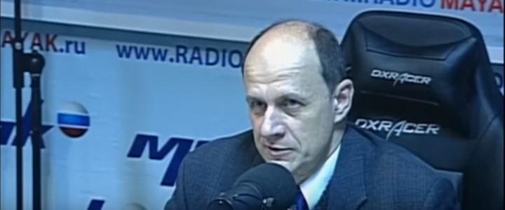 Профессор МПГУ В.Ж.Цветков на радио «Маяк» в программе «Именем революции. Последние дни императорства Николая II»