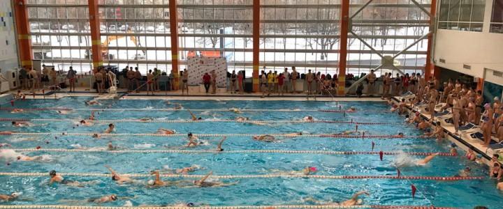 Сборная МПГУ прошла во второй этап соревнований по плаванию в рамках юбилейных ХХХ Московских студенческих спортивных игр