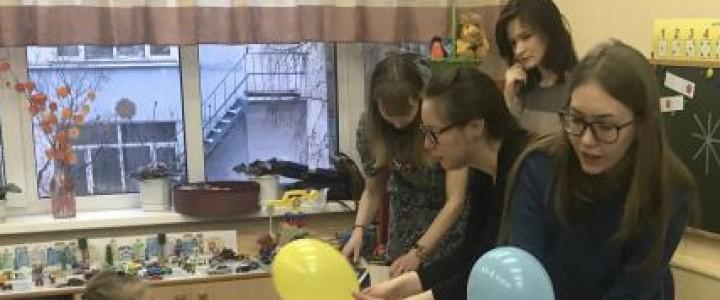 Встречаем зиму: студенты-дефектологи устроили интерактивное шоу для малышей