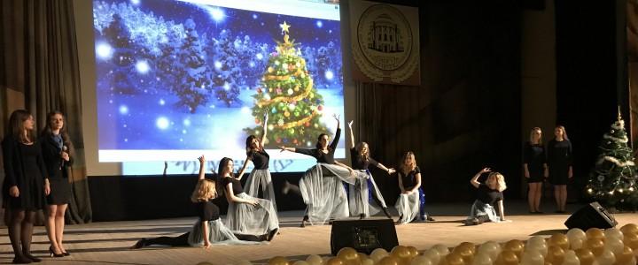 Новогоднее настроение: праздник от Института детства и Института физической культуры, спорта и здоровья