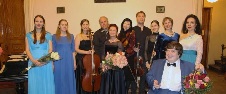 Студенты музыкального факультета выступили в библиотеке им. А.С. Пушкина