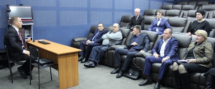 В Ставропольском филиале МПГУ прошло заседание Попечительского совета