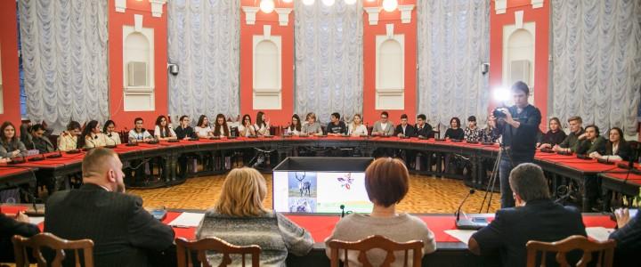 В МПГУ прошло открытое занятие «Всероссийский заповедный урок продолжается…»