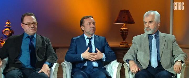 Профессор МПГУ Г.А.Артамонов принял участие в программе канала «Спас» «Следы империи. Крещение: выбор судьбы»