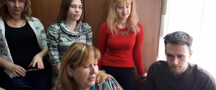 Выездное занятие студентов-педагогов Сергиево-Посадского филиала