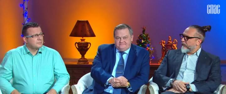 """Советник при ректорате историк Е.Ю.Спицын на канале """"Спас"""" в программе """"Следы империи"""" о Рождестве Христове"""