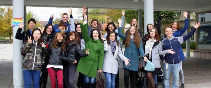 Студенты ИИЯ на стажировке в Эрфуртском университете
