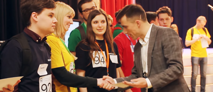 Наша магистрантка на конкурсе Стипендиальной программы Владимира Потанина