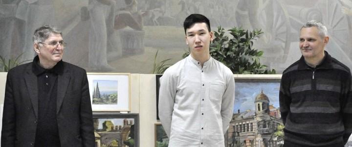 Открытие выставки живописных работ студентов ХГФ «Райские уголки мира»: отчет о студенческом пленэре в Абхазии