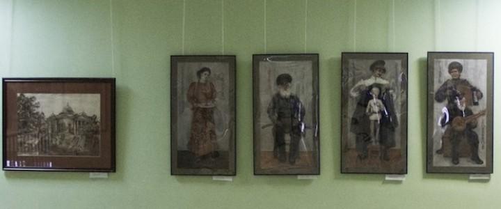 В МПГУ открылась выставка графики студентов и выпускников Института искусств