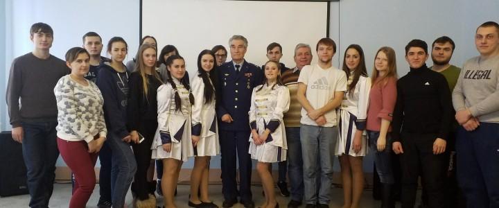 В Покровском филиале состоялся праздничный концерт, посвященный 100-летию Российской армии и «Дню защитника Отечества»