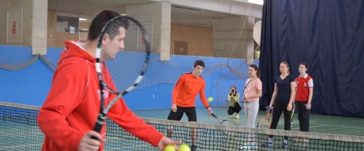 Университетские субботы. Мастер-класс по теннису