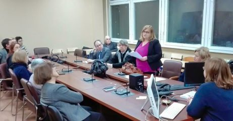 Члены Союза переводчиков РФ  в стенах МПГУ