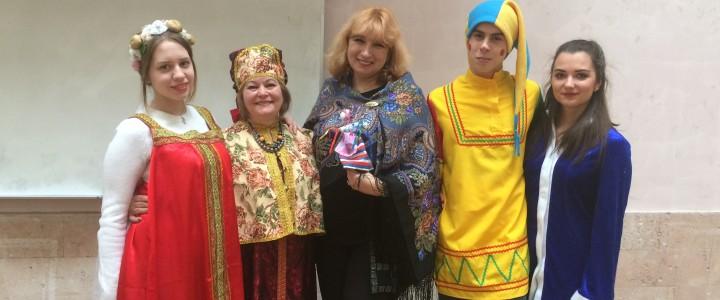 Масленица на Подготовительном факультете русского языка как иностранного