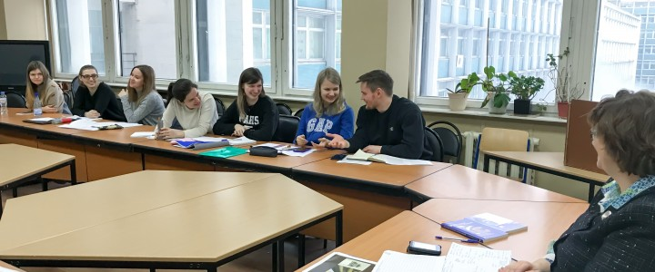 Институт иностранных языков МПГУ  расширяет географию международного партнерства. Международные магистранты на программе « Теория и практика перевода».