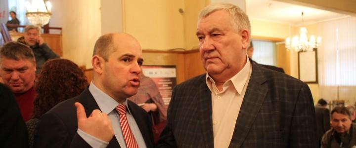 Преподаватели и студенты МПГУ на XV съезде Союза писателей России