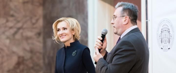 Ирина Яровая рассказала студентам МПГУ о роли молодежи в обеспечении информационного суверенитета России