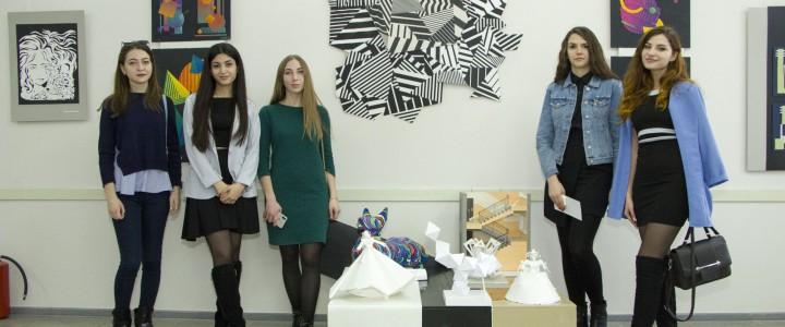 Студенты-дизайнеры представили свои работы на выставке «Бумажная пластика»