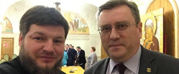 Руководство МПГУ приняло участие в заседании Президиума Общества русской словесности
