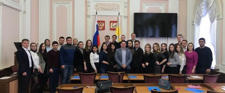 Студентка Ставропольского филиала МПГУ вошла в молодежный Парламент края