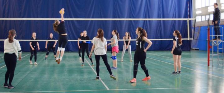 Продолжение группового этапа Первенства МПГУ среди женских волейбольных команд