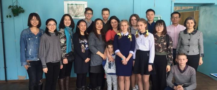 Стажёры из Китая провели мастер-классы по китайскому языку для школьников