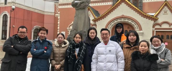 Иностранные студенты посетили Третьяковскую галерею