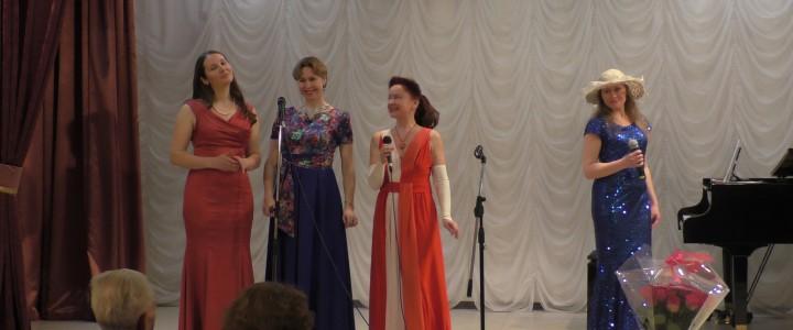Студенты класса М.А. Павловой выступили в концерте ко Дню защитника Отечества