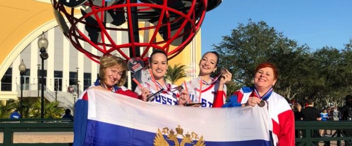 Мальцева Наталья завоевала бронзовую медаль на международных соревнованиях по чир-спорту