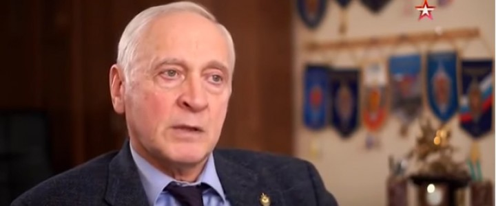Профессор МПГУ Александр Зданович стал академиком Академии военных наук