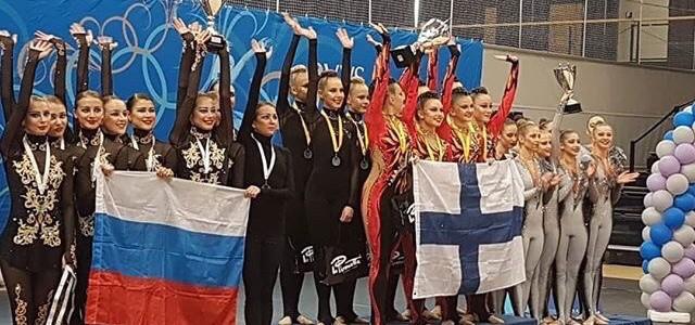 """Команда """"Мадонна"""" стала серебряным призером I Кубка мира по эстетической гимнастике"""