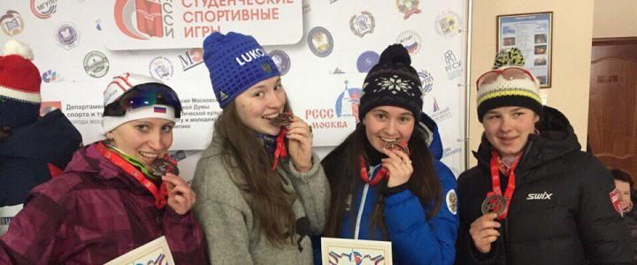 Успешное выступление наших лыжниц на Московских соревнованиях