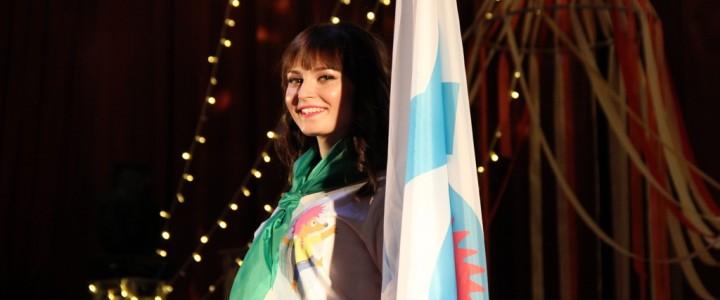 YO-вожатая МПГУ на конкурсе «Мисс педагогический отряд  Москвы 2018»