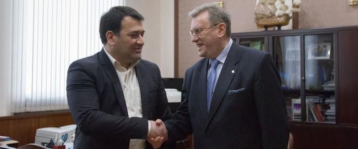 Встреча с заместителем Председателя Правительства республики Ингушетия