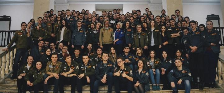 YO-вожатые проходят обучение в окружной школе командиров