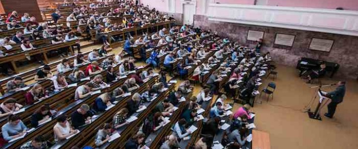 """Более 700 человек написали """"Тотальный диктант"""" в МПГУ"""