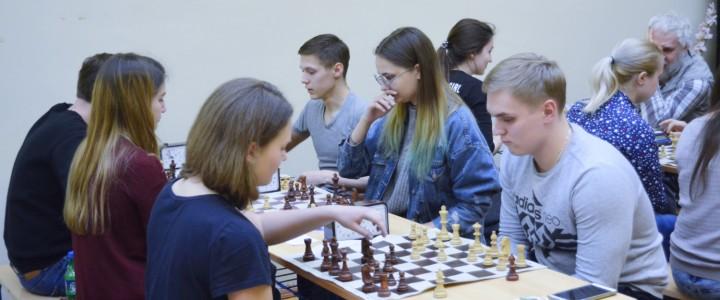 В КГФ стартовало первенство МПГУ по быстрым шахматам среди институтов и факультетов
