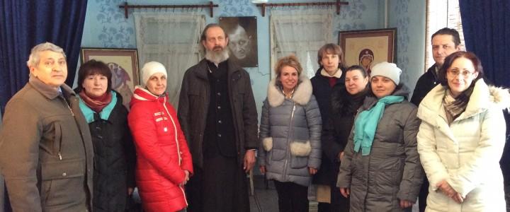 Литургия в домовом Свято-Сергиевском храме Покровского филиала МПГУ
