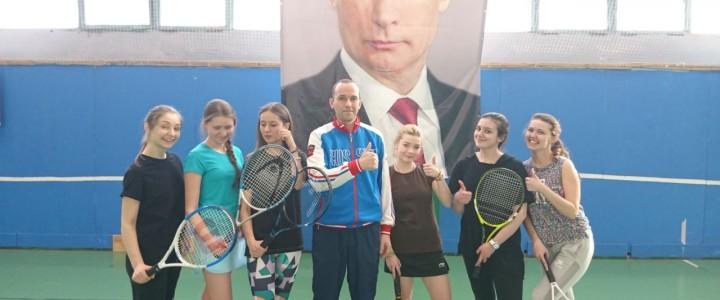 Первенство МПГУ по большому теннису завершилось победами математического и географического факультетов!