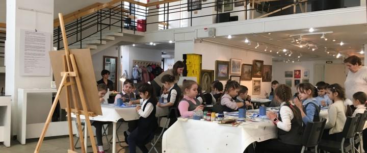 Мастер-класс по живописи для школьников