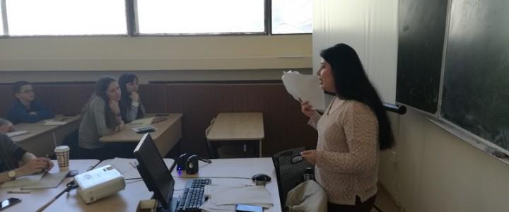 Университетские субботы. Short films in English