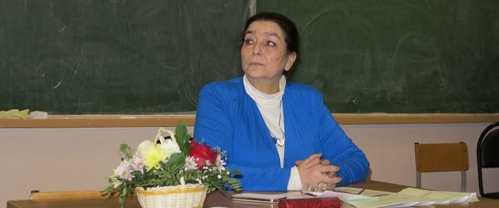 Поздравляем профессора Ирину Георгиевну Минералову!