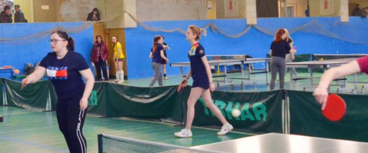 Первенство МПГУ по настольному теннису среди женских команд в рамках ежегодной Спартакиады МПГУ