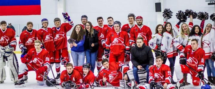 Хоккейная сборная МПГУ прошла в полуфинал Московской студенческой хоккейной лиги