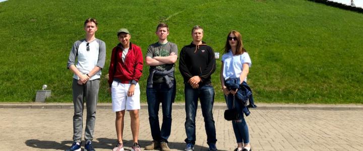 Студенты ИСГО на экскурсии в Минске